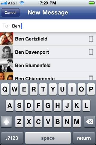 Facebook Messenger App For iPhone & Android Facebook-Messenger-app