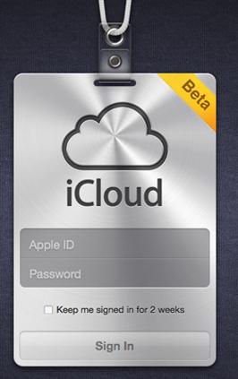 iCloud Beta Released ICloud-login1