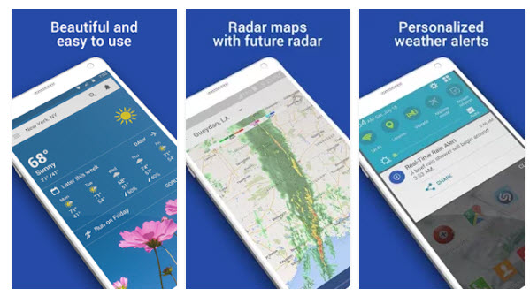best weather apps android