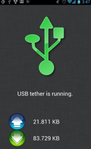 free tethering apps on android