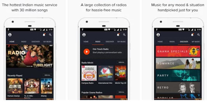 Music Streaming Apps for android