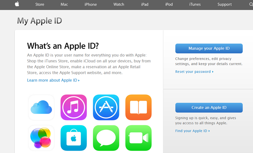 enable two-step verification apple id