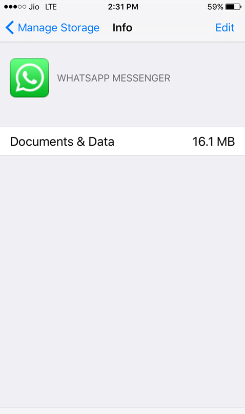 delete app documents and data in icloud