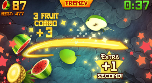 Fruit Ninja iPad