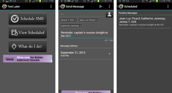 text later app