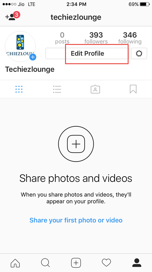 How can change name on instagram
