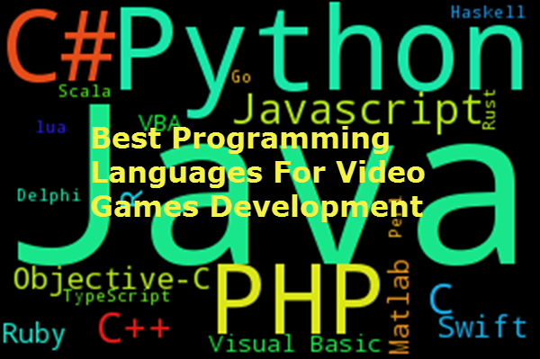 Best Programming Languages For Video Games Development