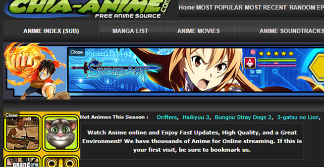 top 10 best anime streaming websites to watch anime online for free