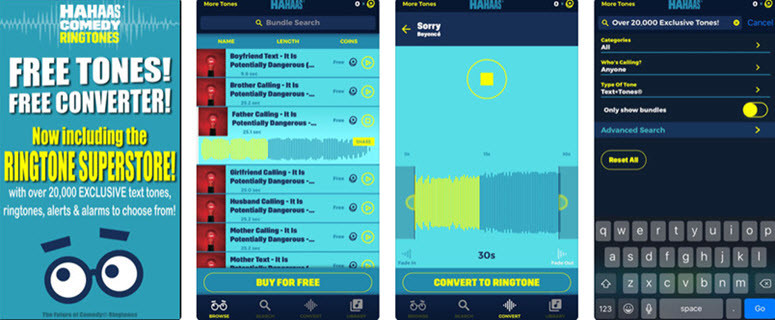 iphone ringtones for android free